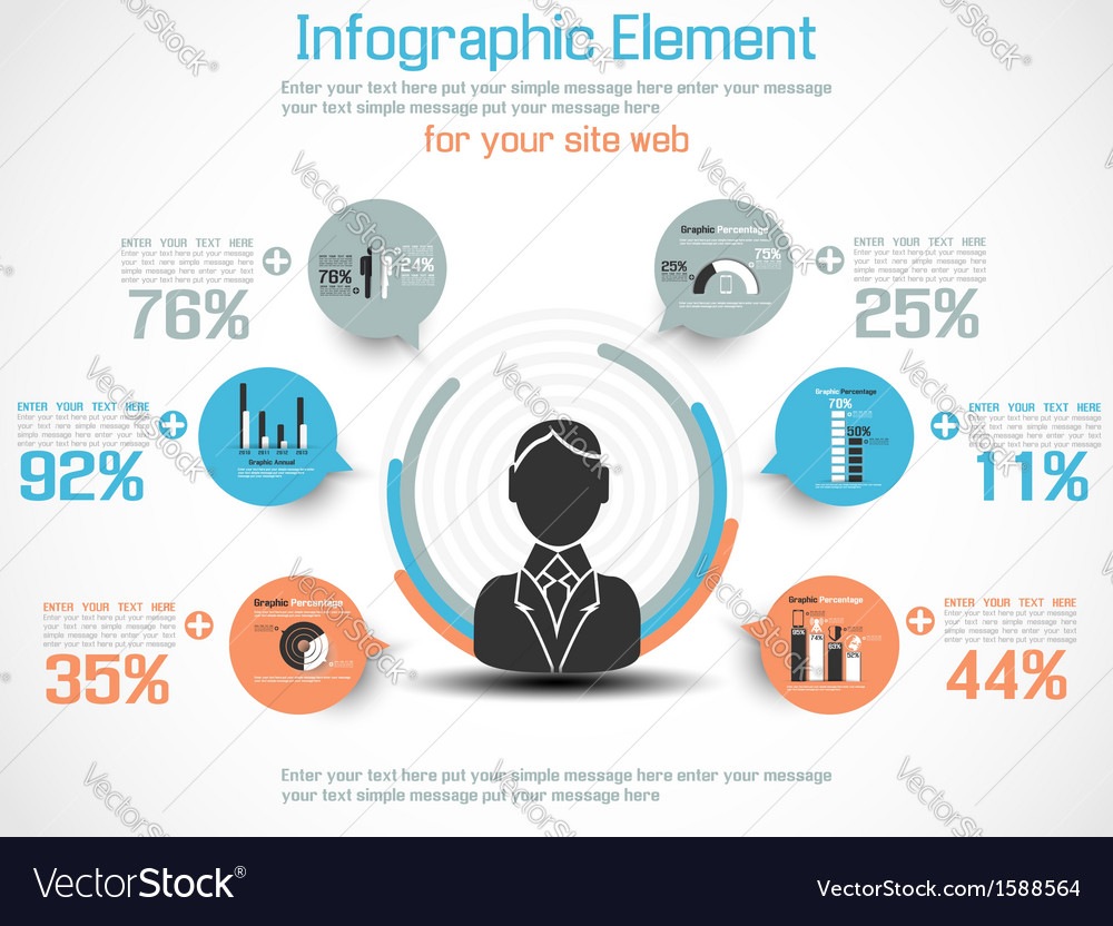 INFOGRAPHIC MODERN PEOPLE BUSINESS NEW STYLE