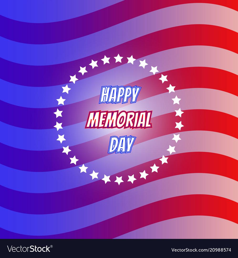 American flag for memorial day us memorial day