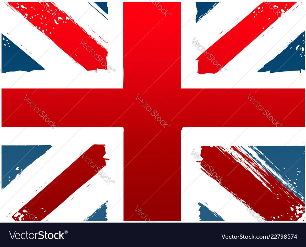 Grunge flag england