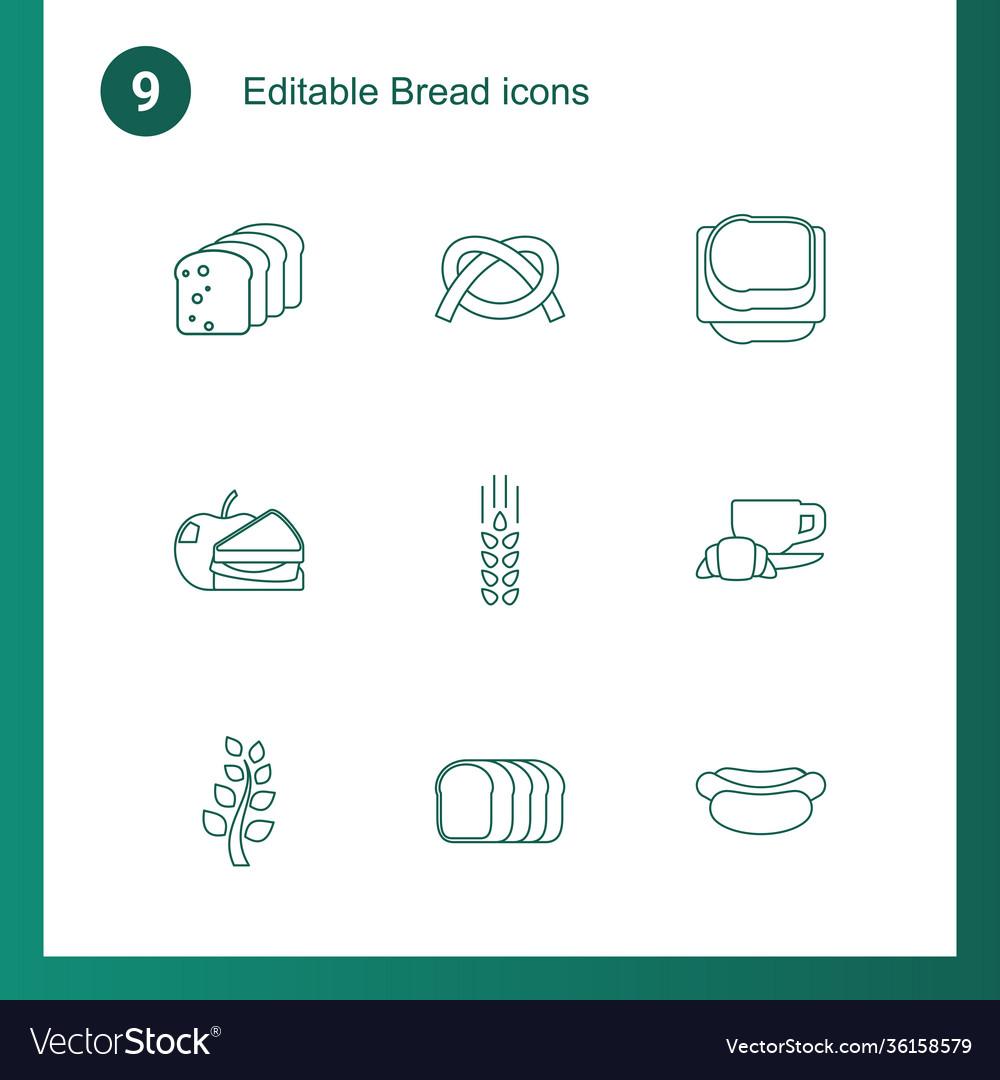 9 bread icons