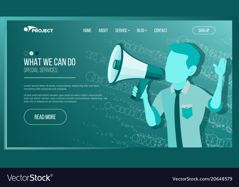 Website page business website achieve the