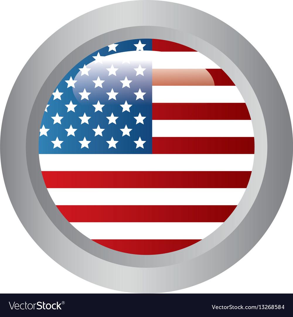 United States Patriotic Symbol Royalty Free Vector Image