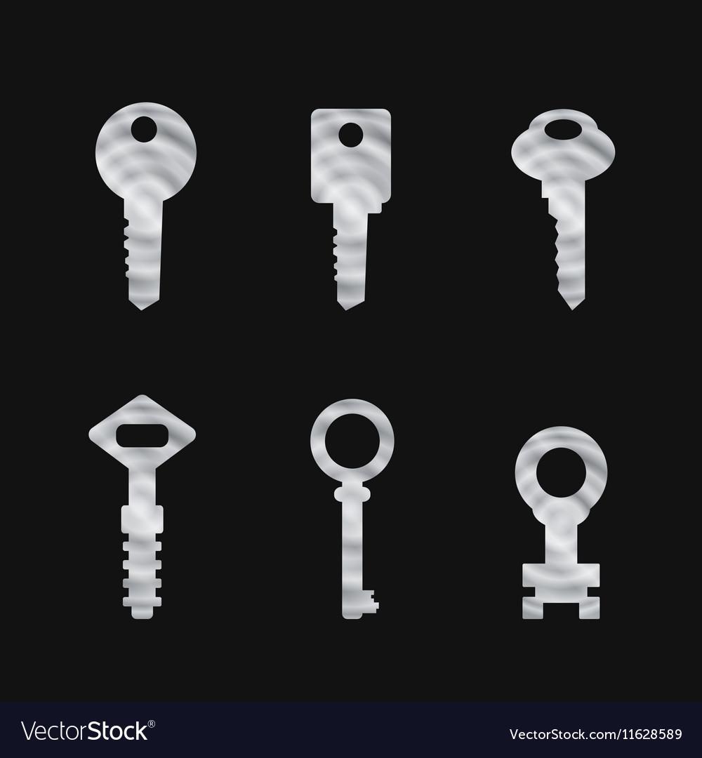 Door key set eps 10