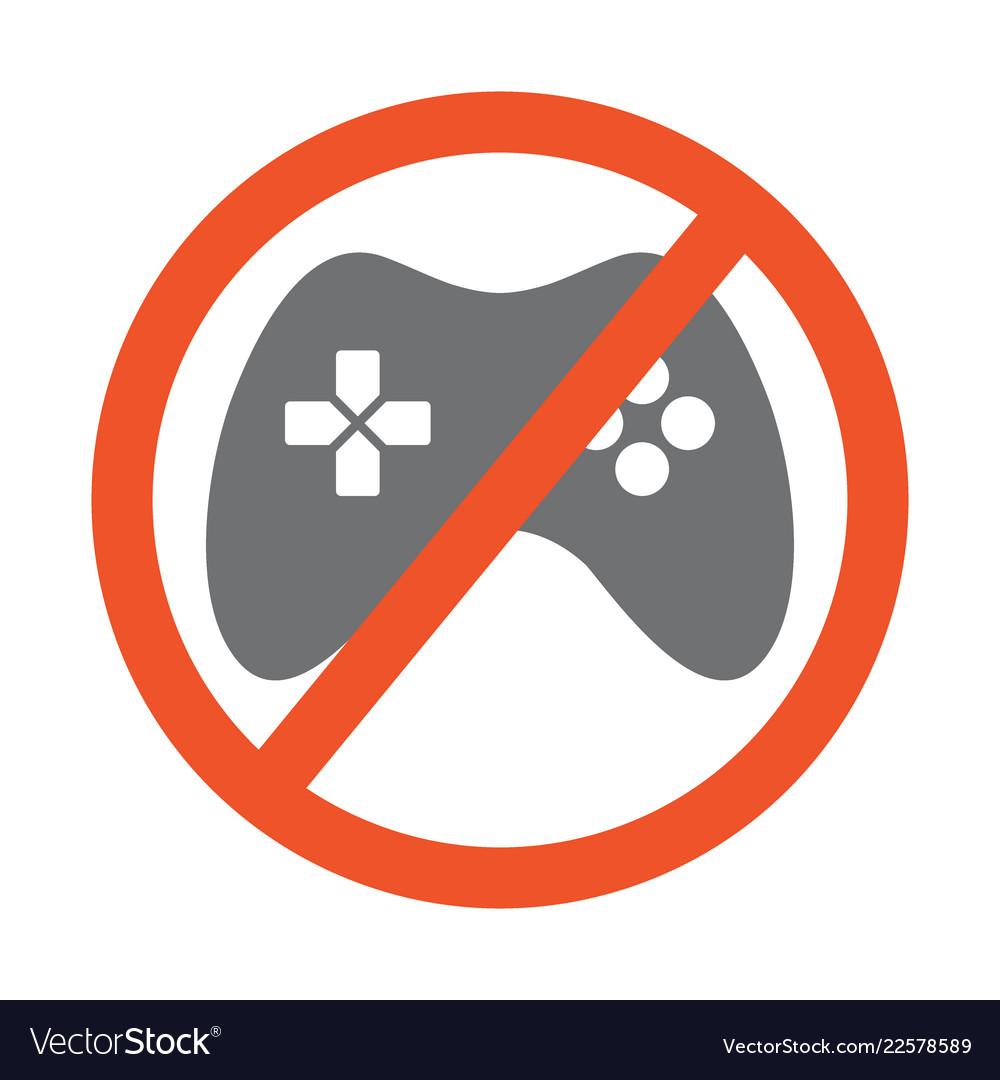 No gamepad symbol design forbidden