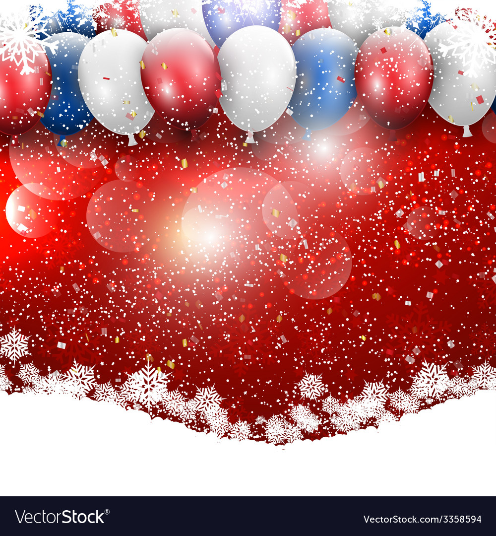 Christmas balloons background 1711