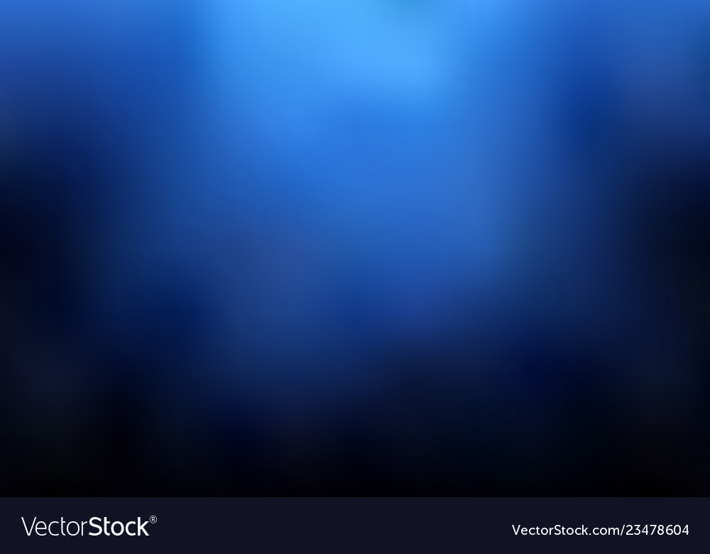 Abstract dark blue blurred background with smoke