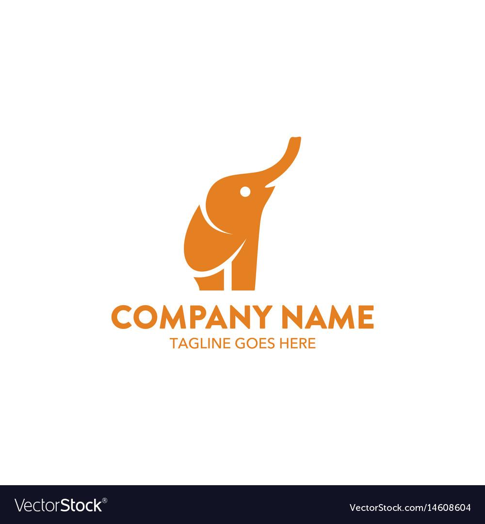 Unique elephant logo