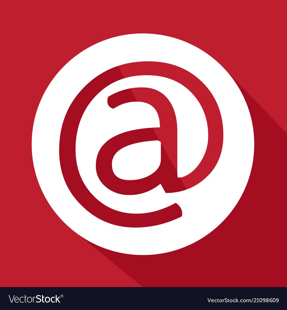 Email Symbol Icon Royalty Free Vector Image Vectorstock