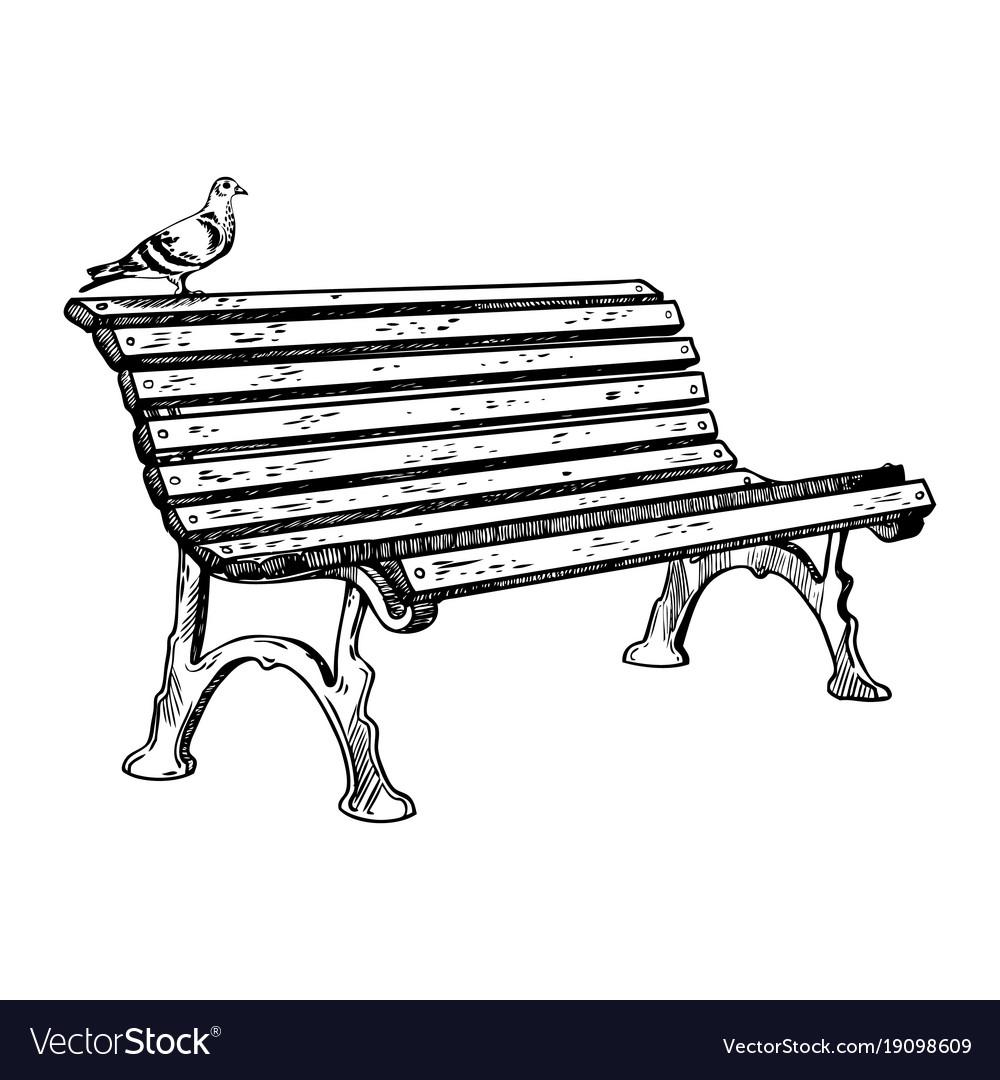 Park bench engraving