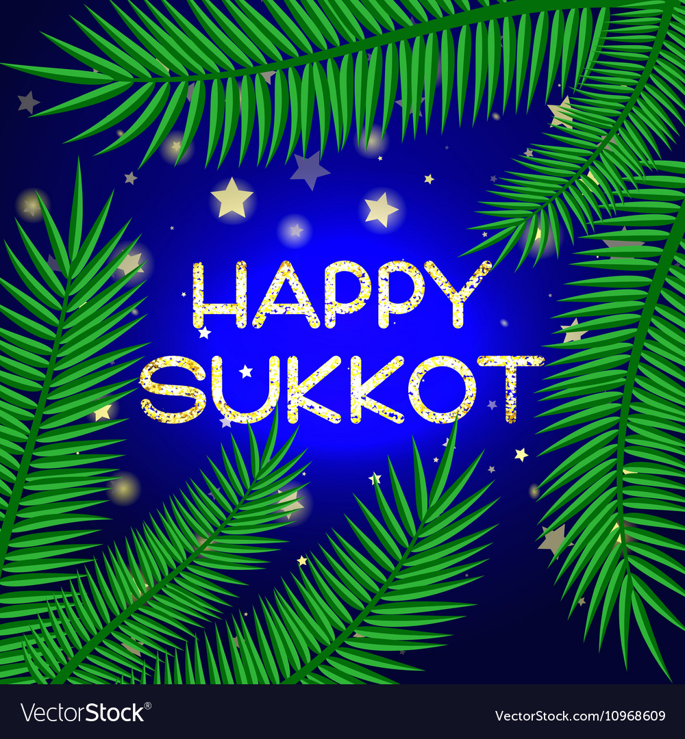 Sukkot festival greeting card royalty free vector image sukkot festival greeting card vector image m4hsunfo