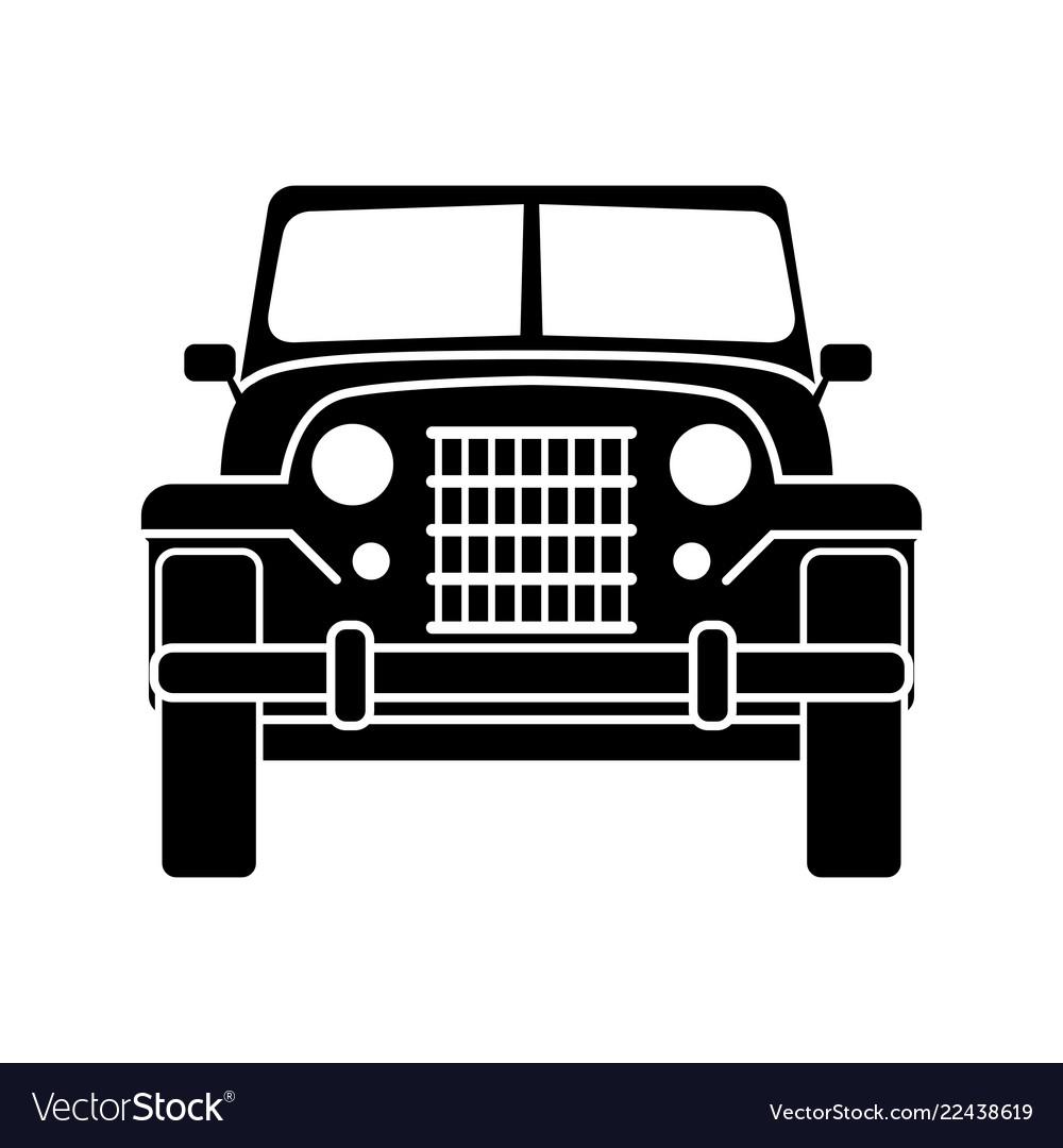 Army off-road car