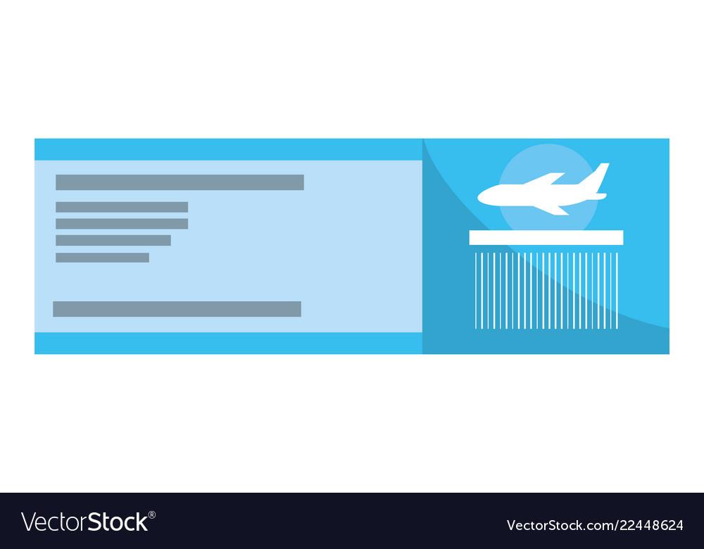 Boarding pass cartoon