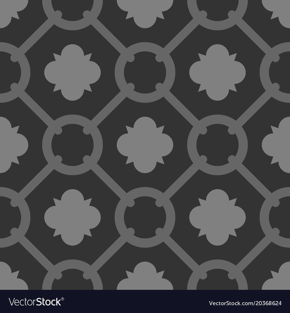 Tile Grey And Black Decorative Floor Tiles Pattern