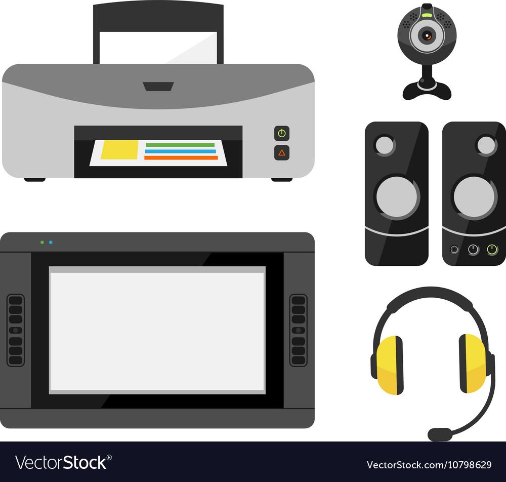 Computer office equipment