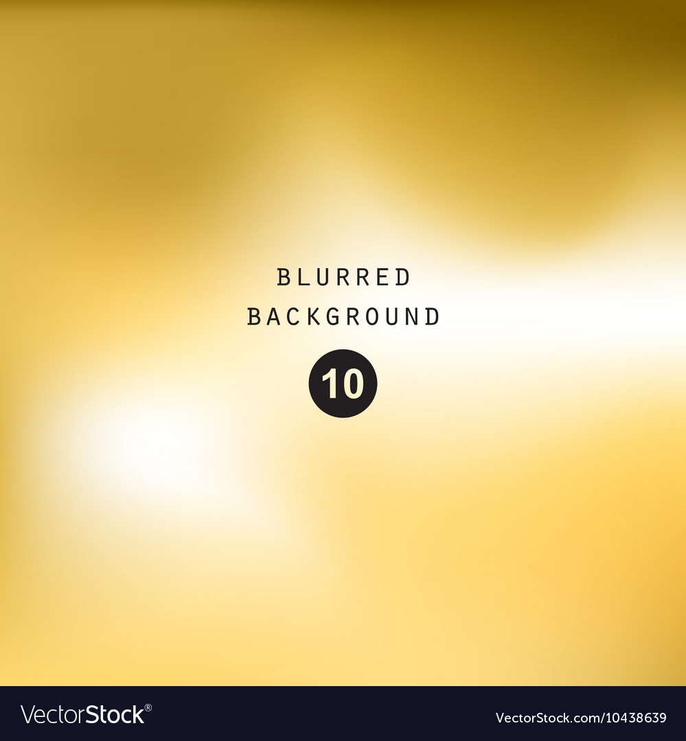 Blurred abstract gradient background gold yellow