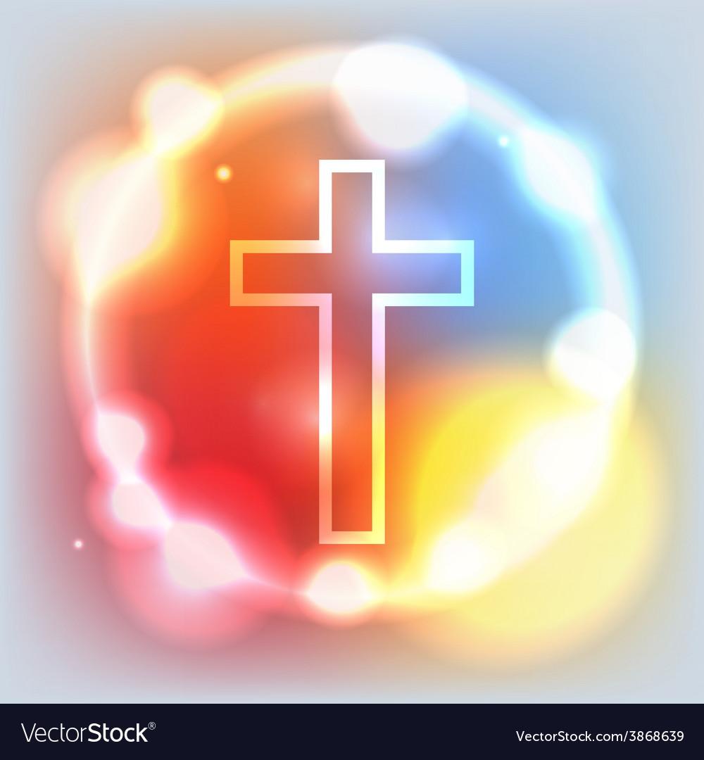 Holy Cross Glowing