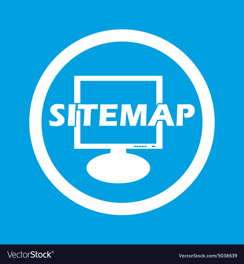 Sitemap sign icon