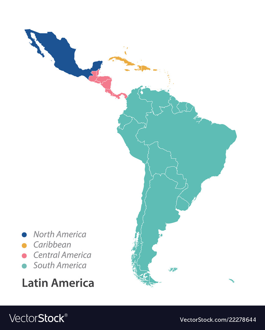 Map of latin america Map Of America South And North on map of cuba, map of brazil, political map of north america, map of us and south america, map of southern north america, spanish language, map of american continent, latin america, christopher columbus, map of spain, native americans in the united states, central america, map of peru, atlantic ocean, map of panama, map of south america countries, map of antarctica continent, united states of america, blank map of north america, map of the americas, western hemisphere, map of canada, map of africa, map north america south elementary, indigenous peoples of the americas, map of south pacific islands, pacific ocean, map of mexico, map of western hemisphere,