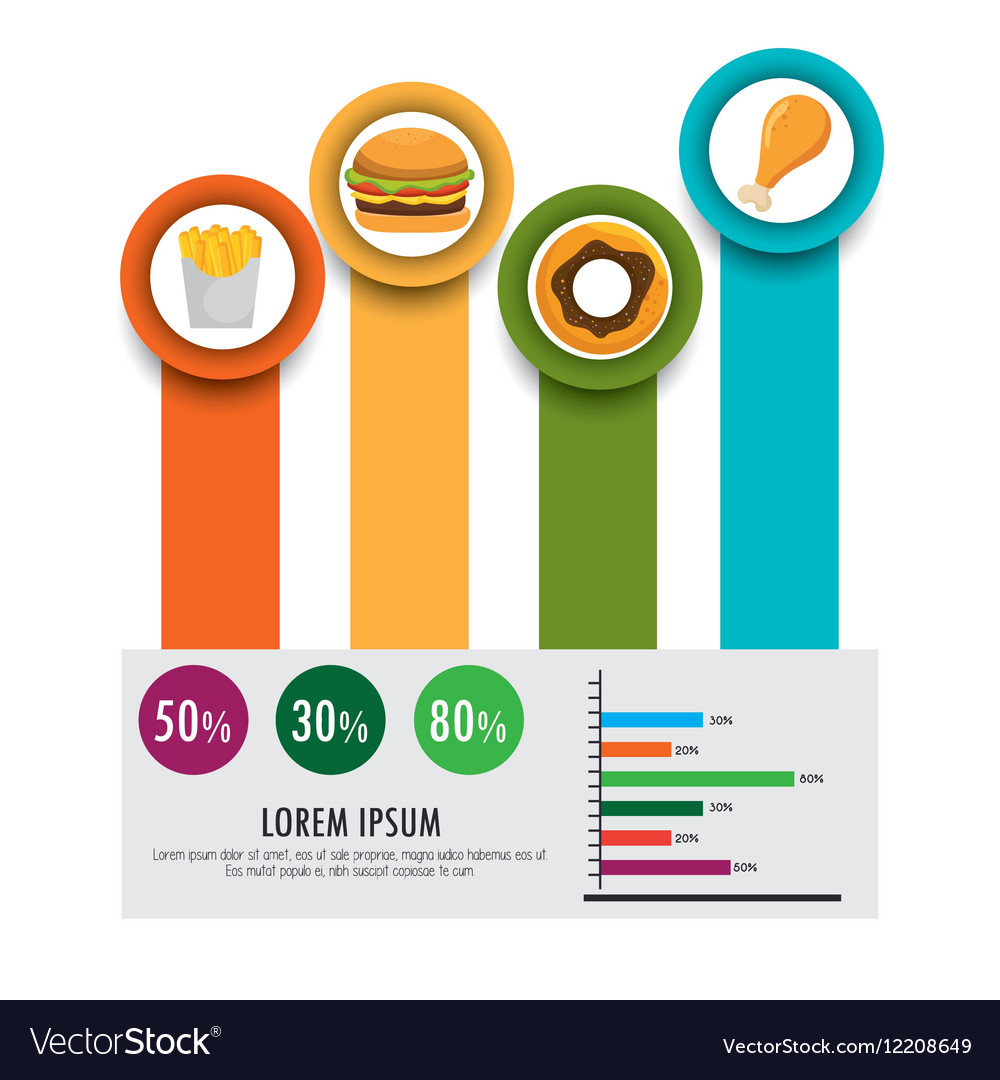 Food infographic icons