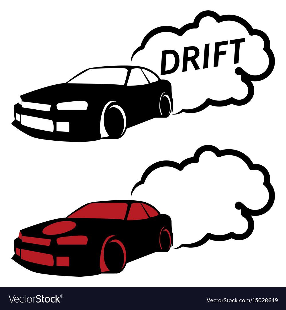 Race car drifting