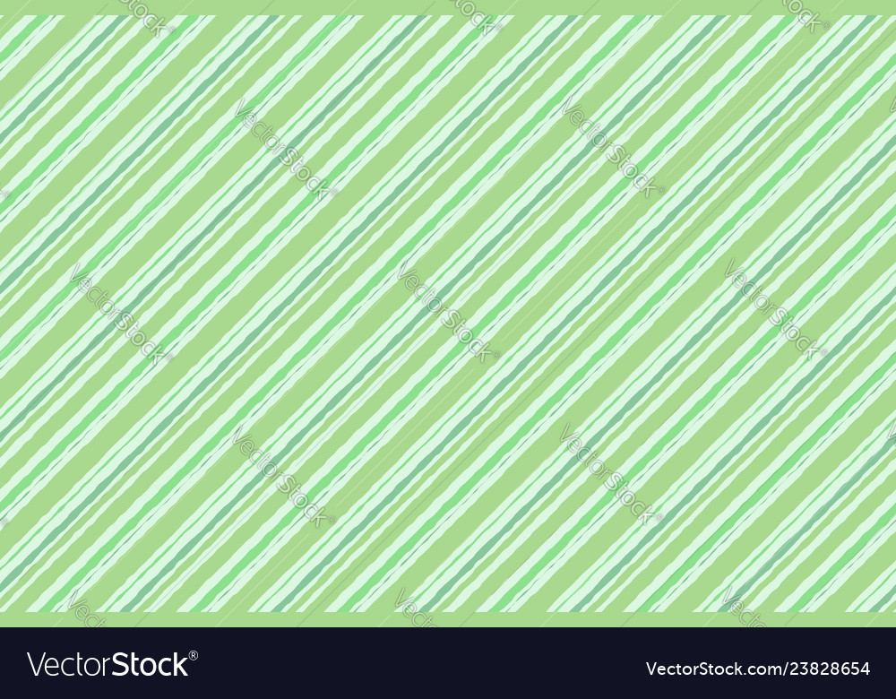 Green striped watercolor background seamless