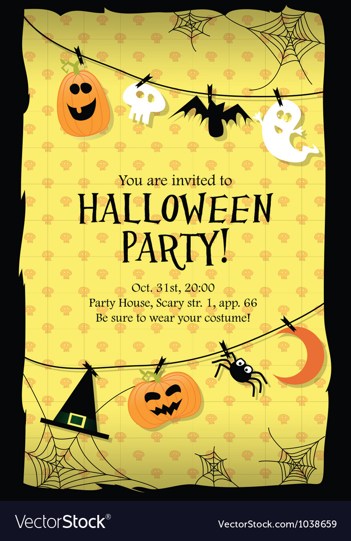 Halloween Party Cards Grude Interpretomics Co