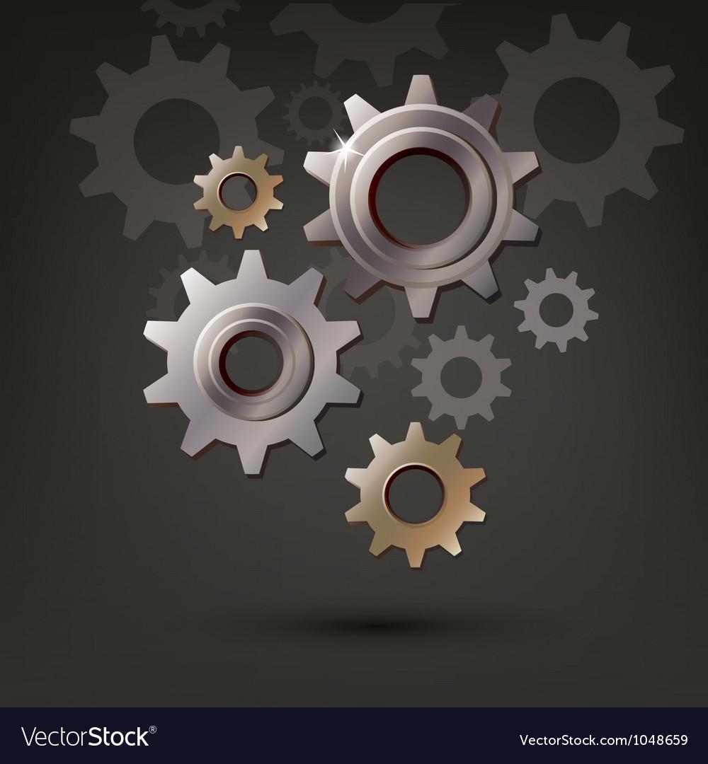 Machine gear wheel cogwheel icon