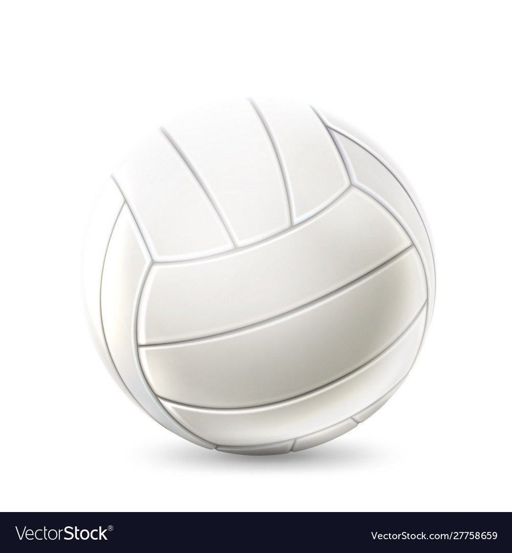 Realistic volley ball for betting design