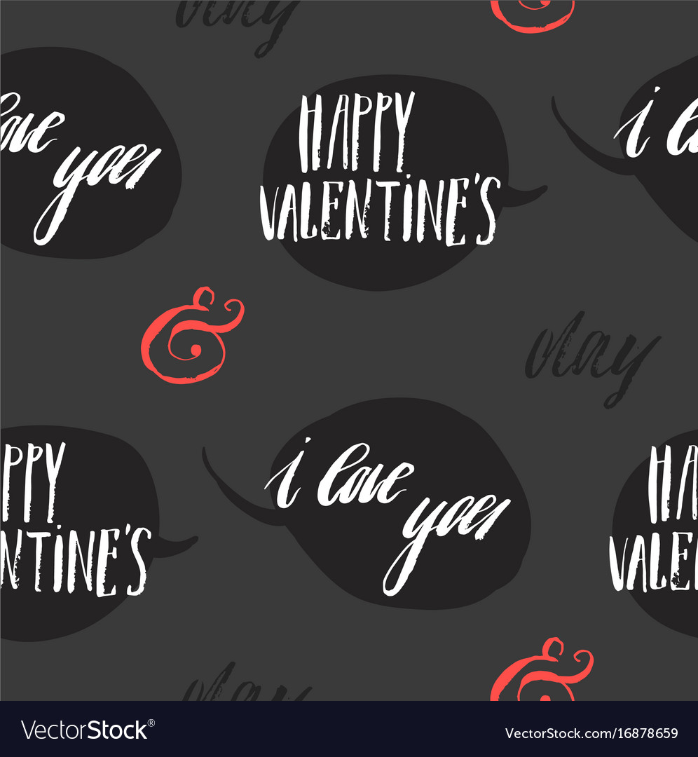 Set of greeting cards for valentine s day vector image