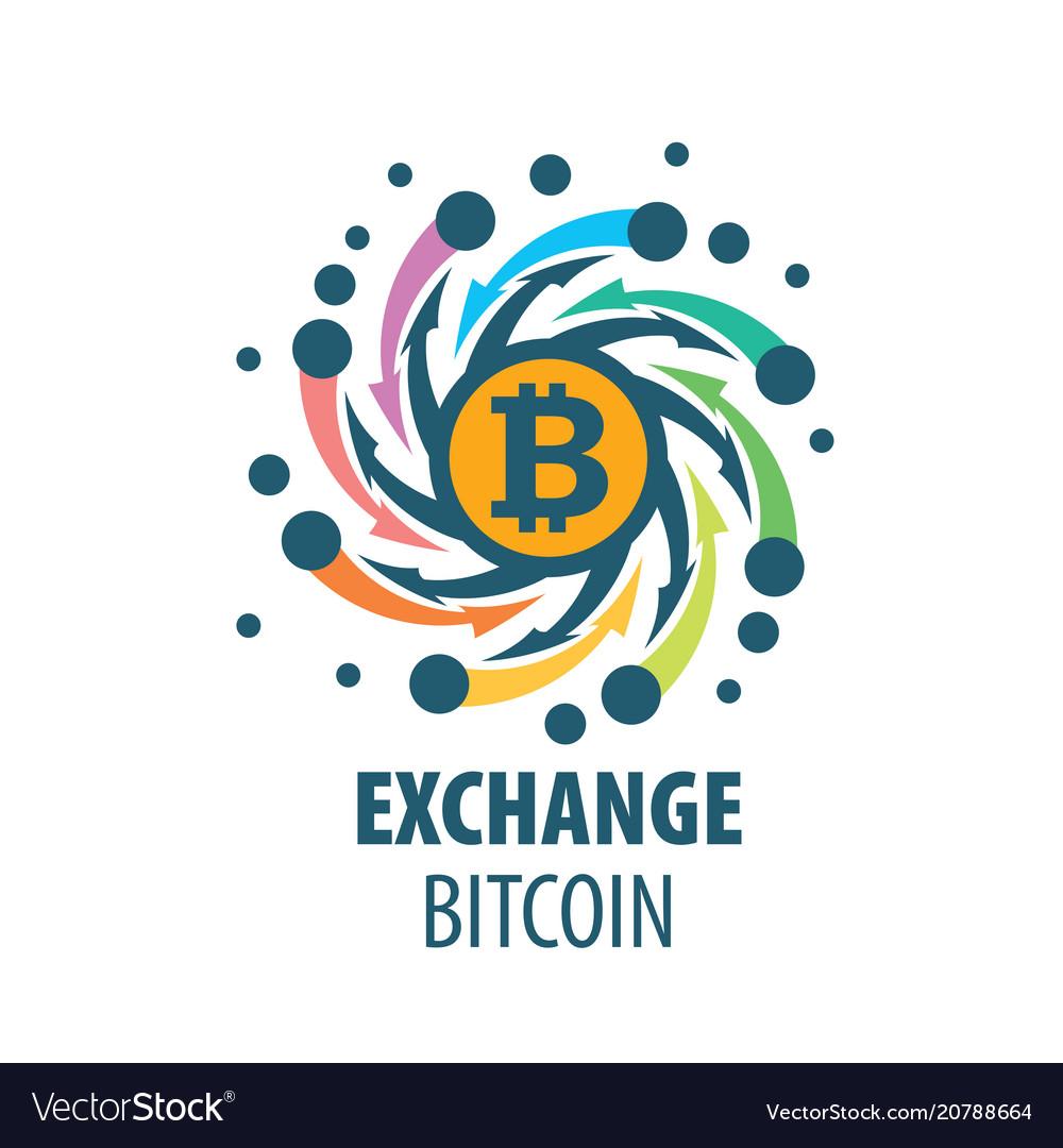 Exchange Bitcoin For Money Vector Image