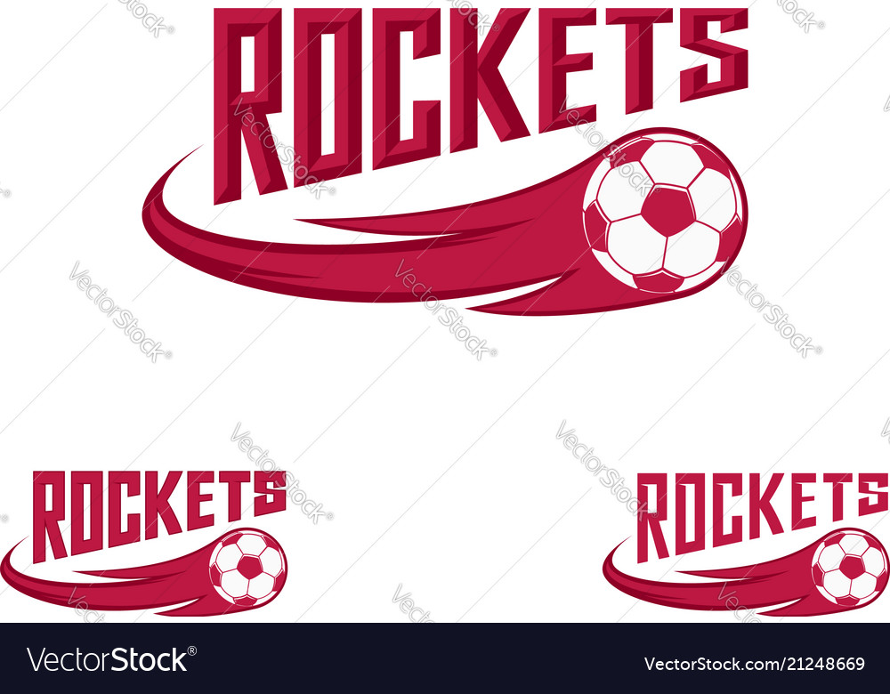 Rocket logo for team and cup