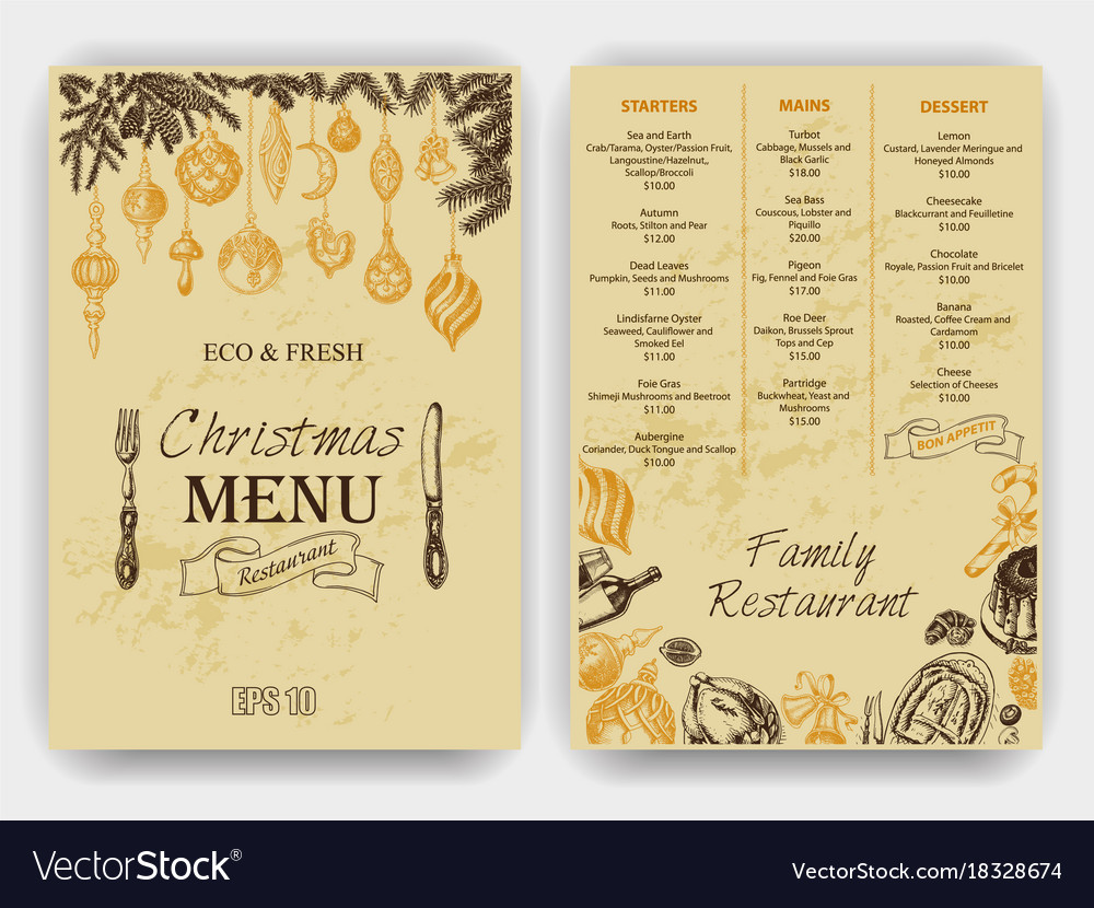 Sketch Greeting Cards And Royalty Free Vector Image