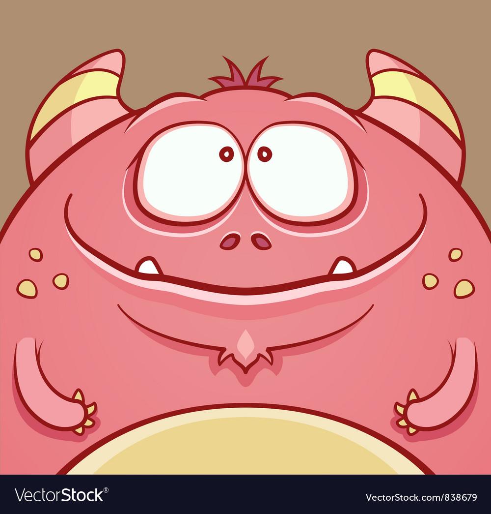Cute Horned Monster