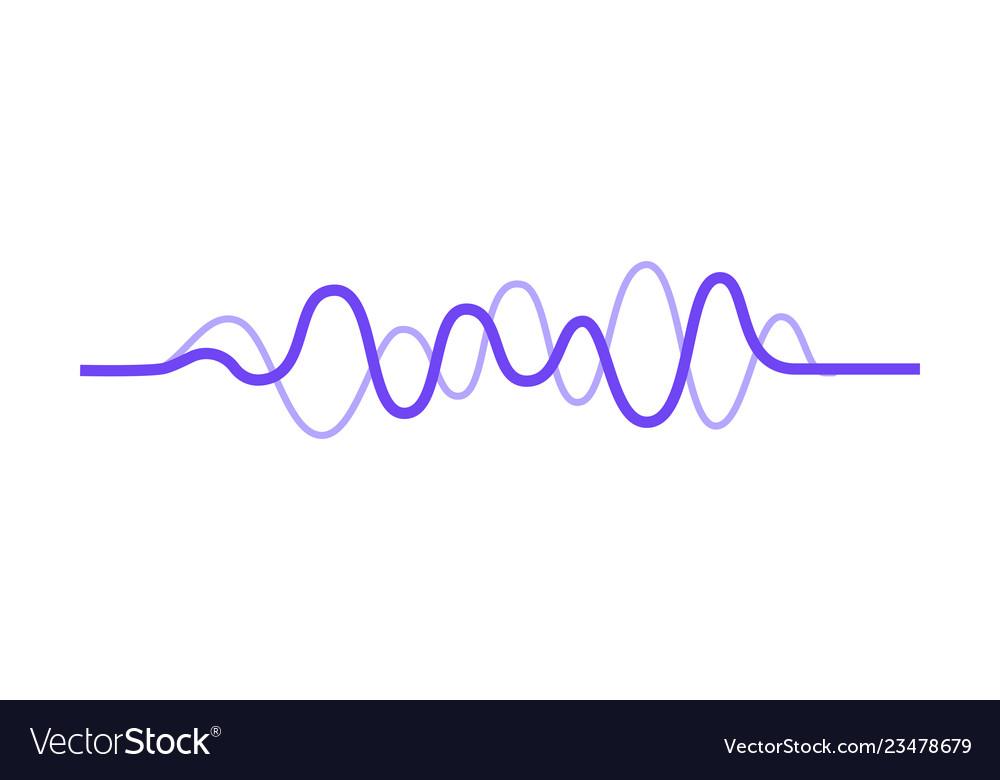 Design of music wave sound pulse audio