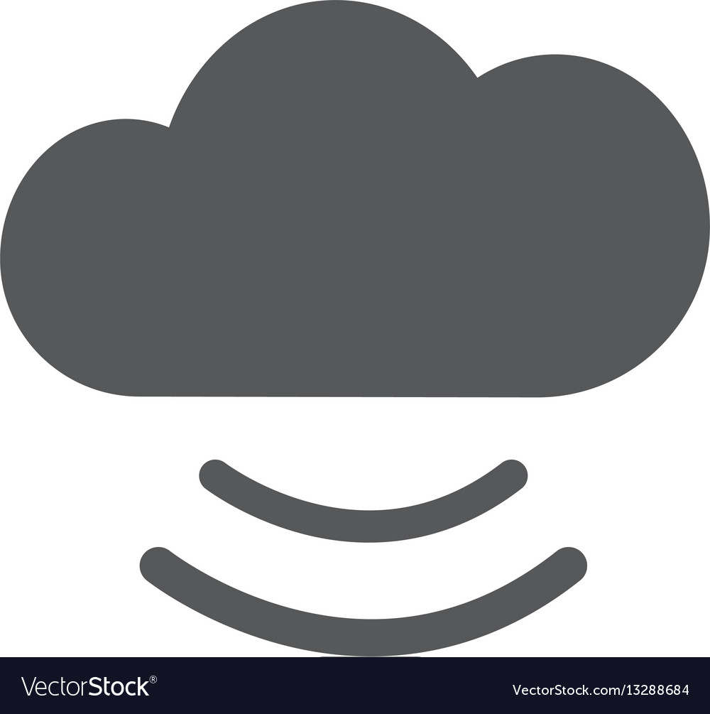 Cloud icon flat eps 10