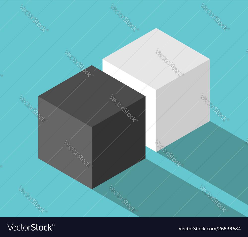 Isometric couple cubes
