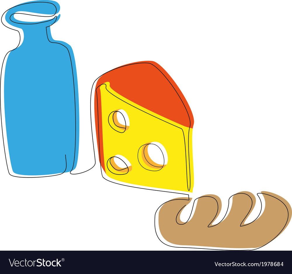 Yogurt cheese and a loaf