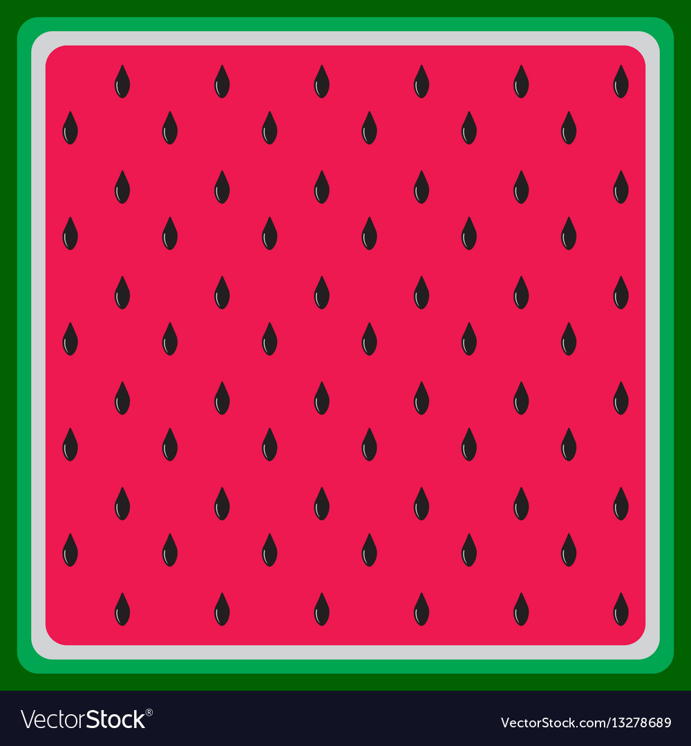 Watermelon flat background texture