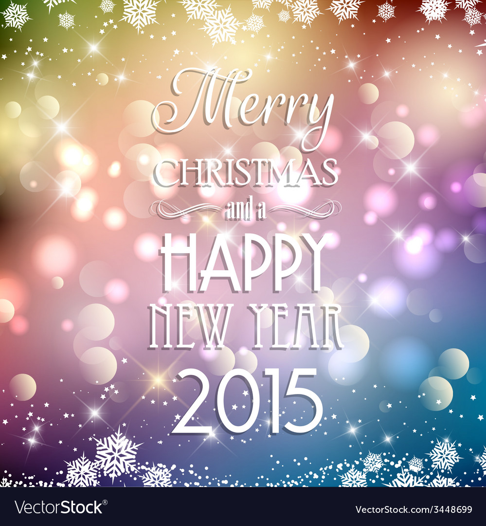 Decorative christmas and new year background 2811