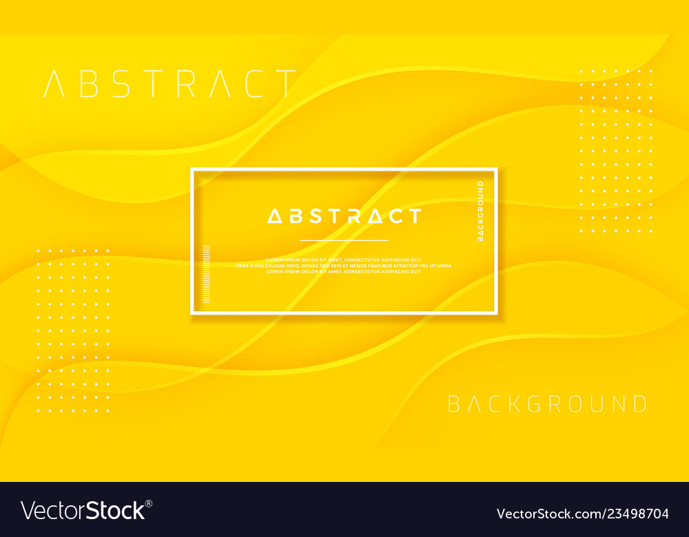 Abstract dynamic and textured yellow background