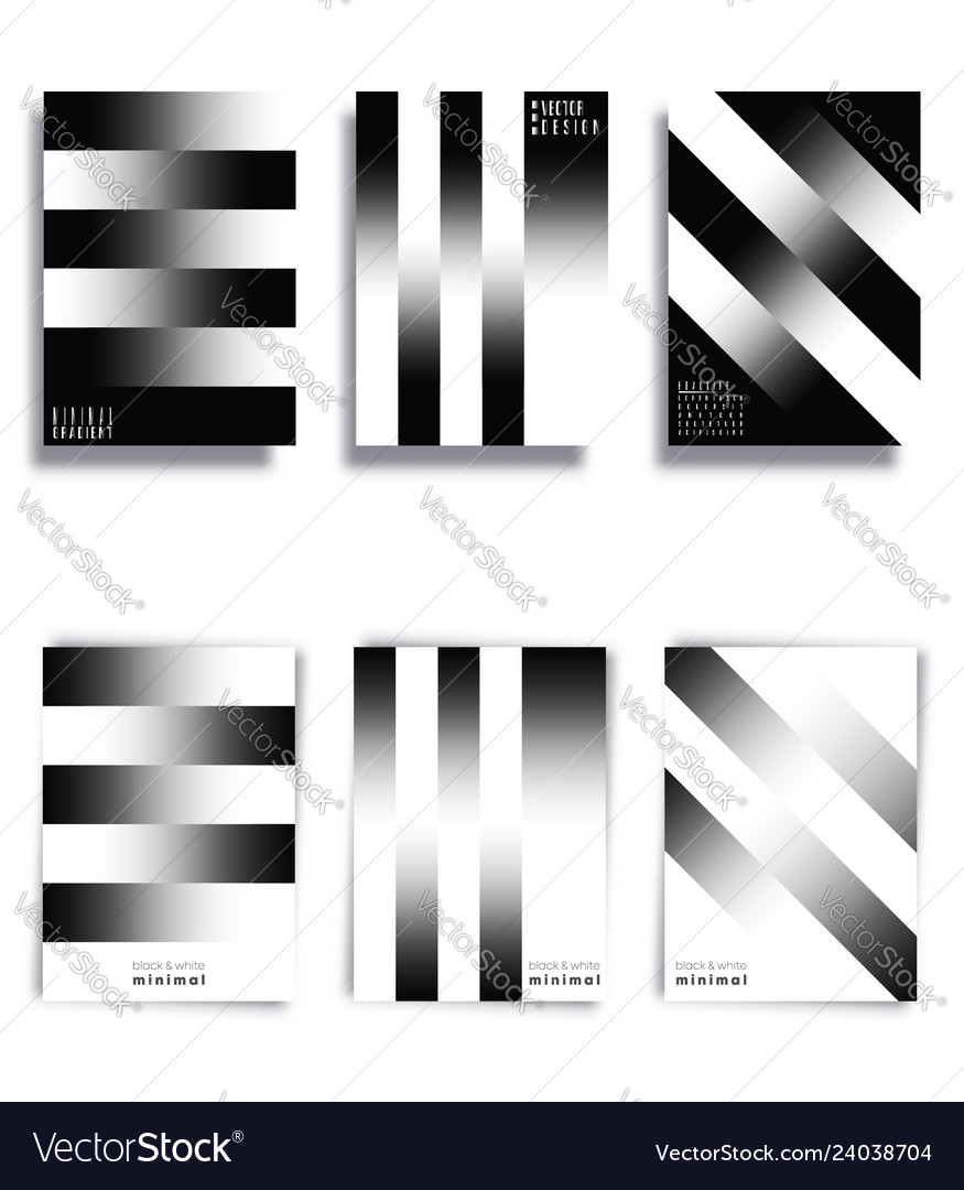 Black and white gradient lines background