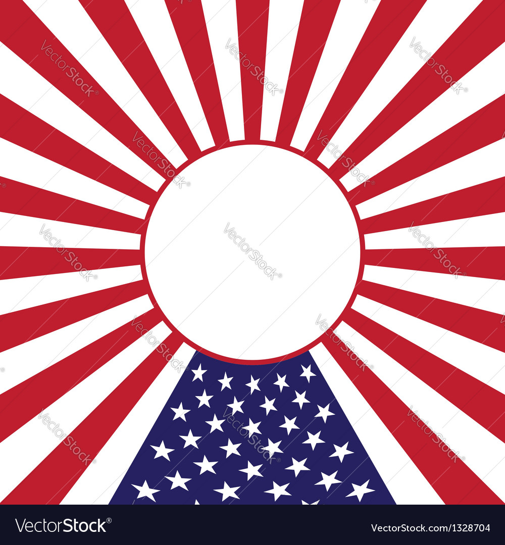 July 4 Independence Day vector image
