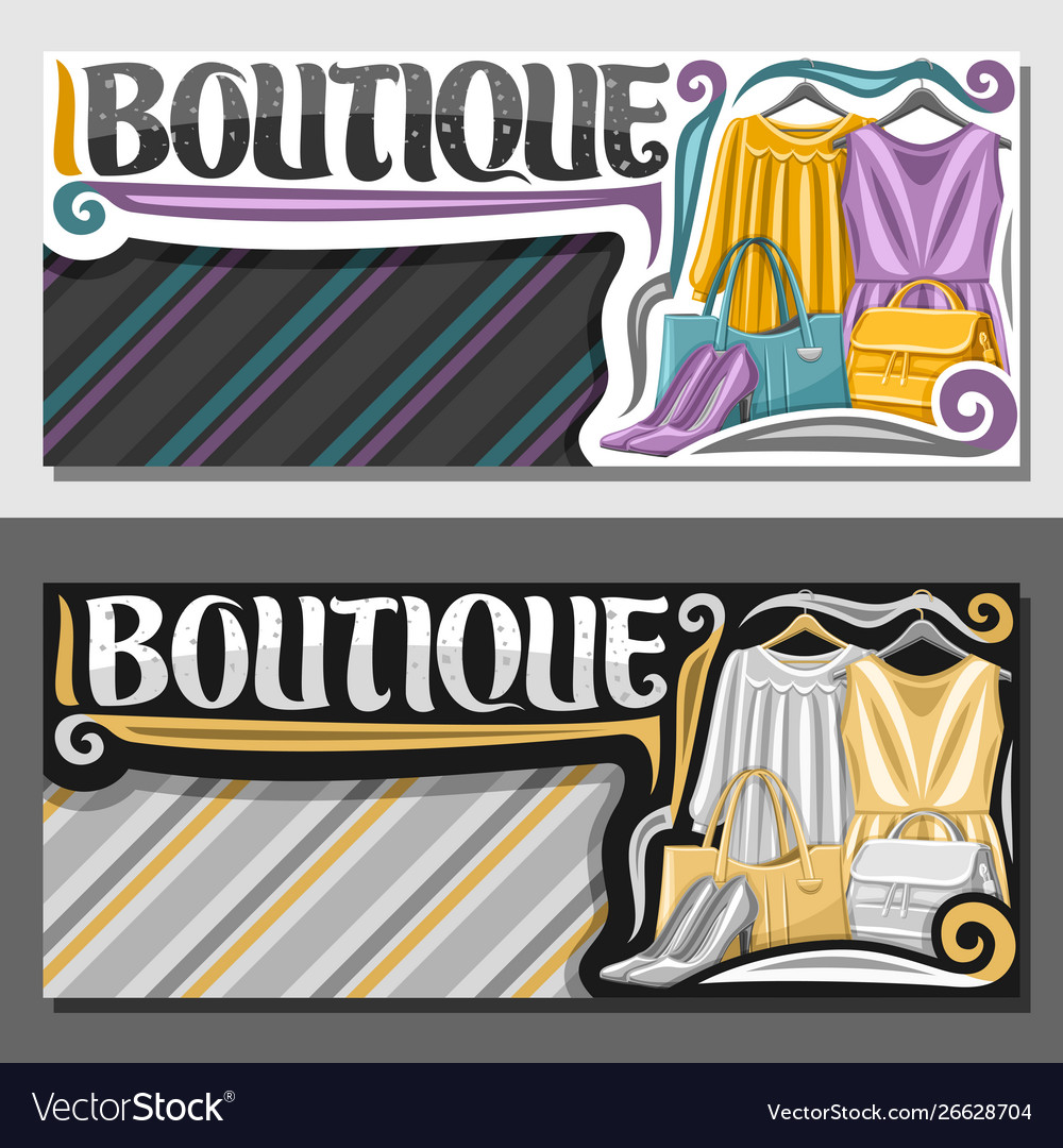 Layouts for boutique