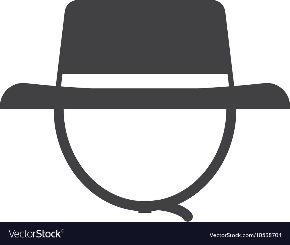 6438467140d07 Tourist Safari Hat Icon Royalty Free Vector Image