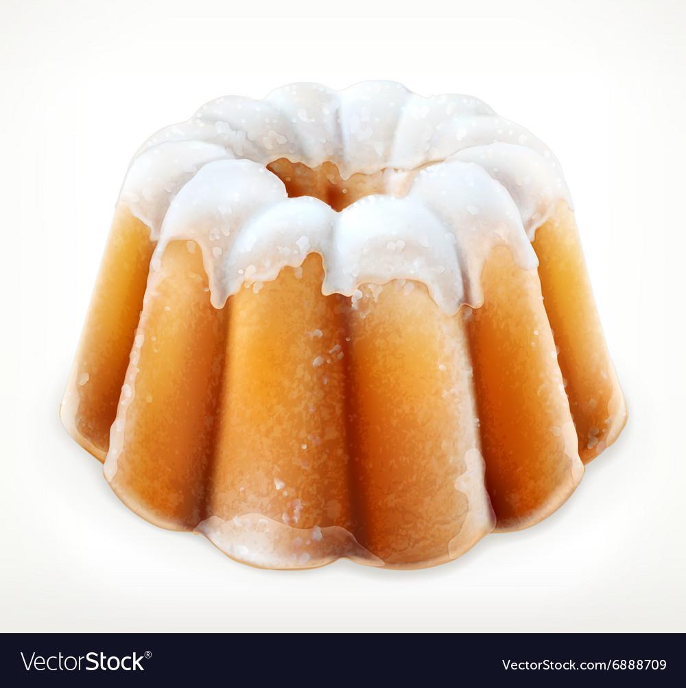 Lemon cake icon