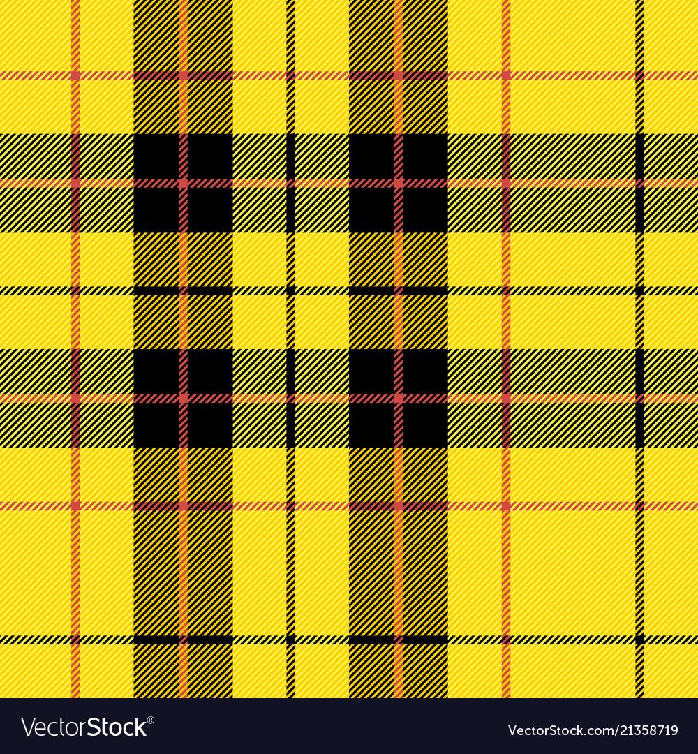 4577 Scottish Cage Tartan Pattern Vector Image
