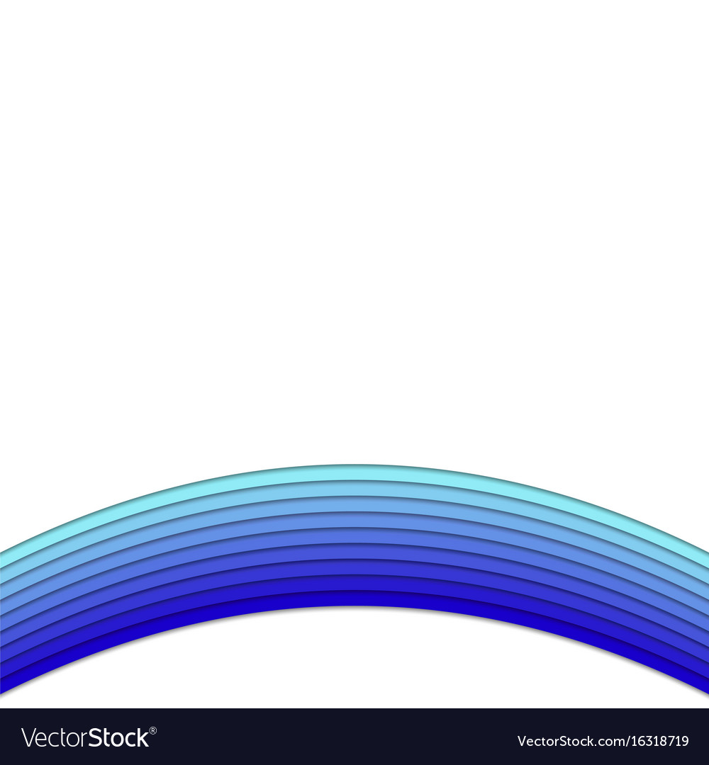 Blue background from curved stripes