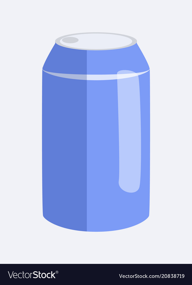 Can of soda and beverage