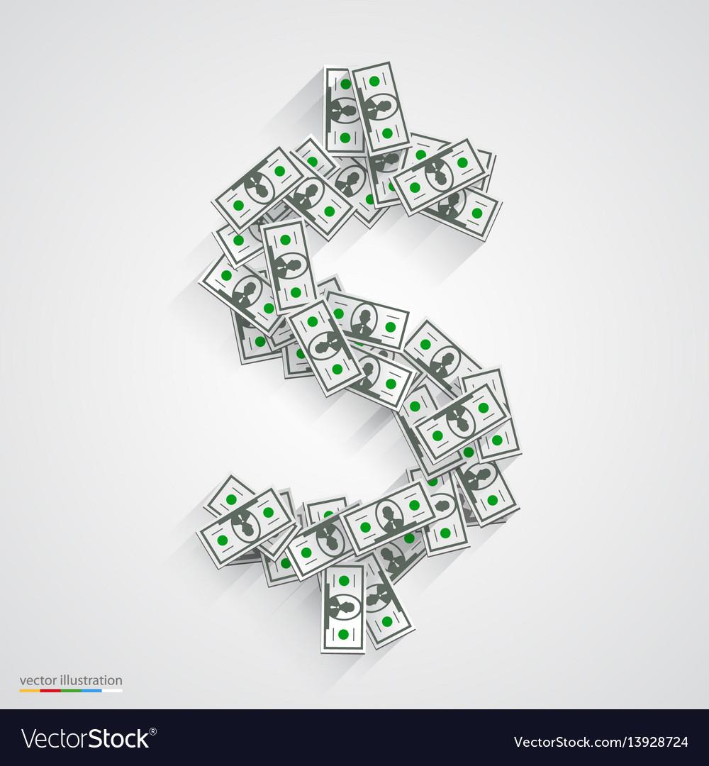 Dollars flat black