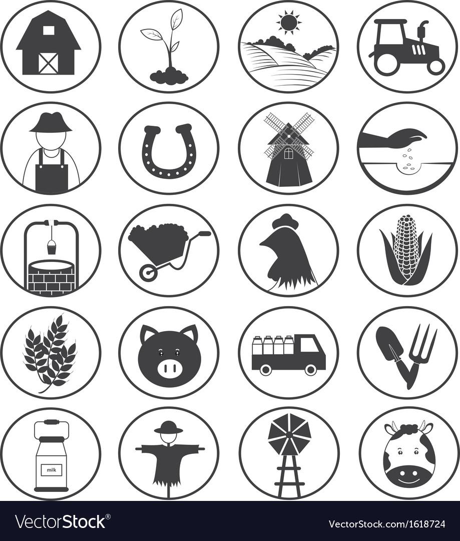 Farming Icons Collection